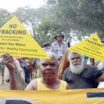 Hundreds protest against NT fracking