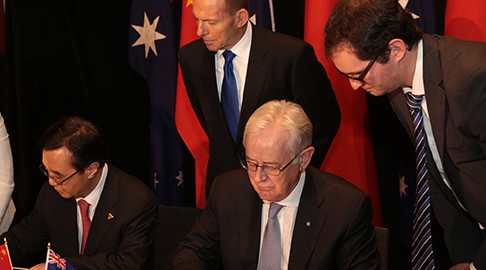 China And Australia Sign Free Trade Agreement Australian Mining