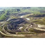 Gold mine tailings dam close to collapse