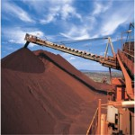 Iron ore price on the way down