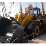 Chinese launch new large wheel loader