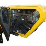 Atlas Copco encloses its loader cabins