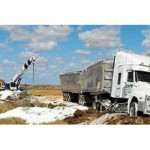 Second explosives truck accident in two months