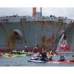 Pacific protesters block Newcastle coal port