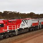 New rail fleet hits the tracks at Carina iron ore mine
