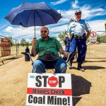 Anglican Minister arrested at Maules Creek mine site