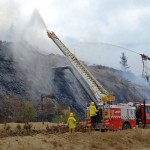 Water used to fight Hazelwood coal mine fire contaminated, concern for firefighters