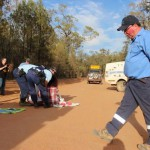 Two arrested at Santos CSG site as blockades continue