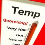 Temperature hits 50 degrees at Pilbara mine site