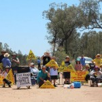 Pilliga State forest blockade continues as locals protest Santos CSG