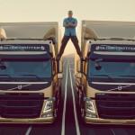 Jean-Claude Van Damme splits Volvo in epic stunt