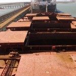Rio Tinto loads first ship from the largest integrated mining project in Australia