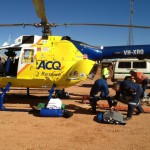 Man airlifted from Queensland mine