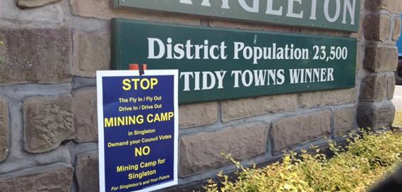 Mt owen mine singleton