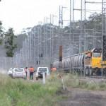 Coal train derails in Queensland