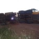 Truckie injured in iron ore roadtrain roll over