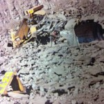 Blasting accident destroys dozer at Saraji