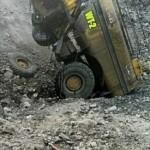 Truck accident at Saraji coal mine