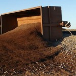 BHP iron ore train derailed