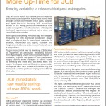 Reduced Costs, Better Control, More Up-Time for JCB