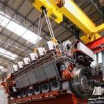Caterpillar ships first Mak Dual fuel engine