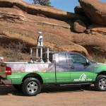 Maptek demonstrates mobile laser scanning