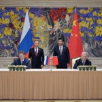 ​China and Russia ink $430bn gas deal