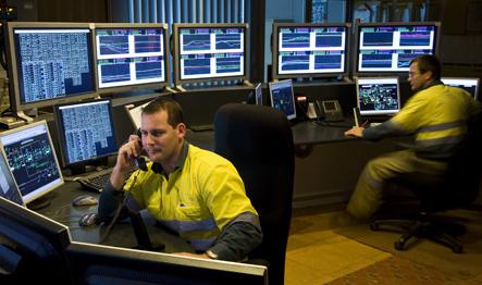 An insight in to rio 39 s mine of the future control room for Futuristic control room