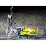 Mining contractor trialling first 'green drill rig' in Australia