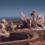 Blasting at Anglo American's Kolomela iron ore mine [IMAGES]