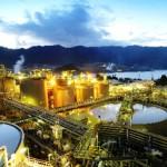 Lihir halts production