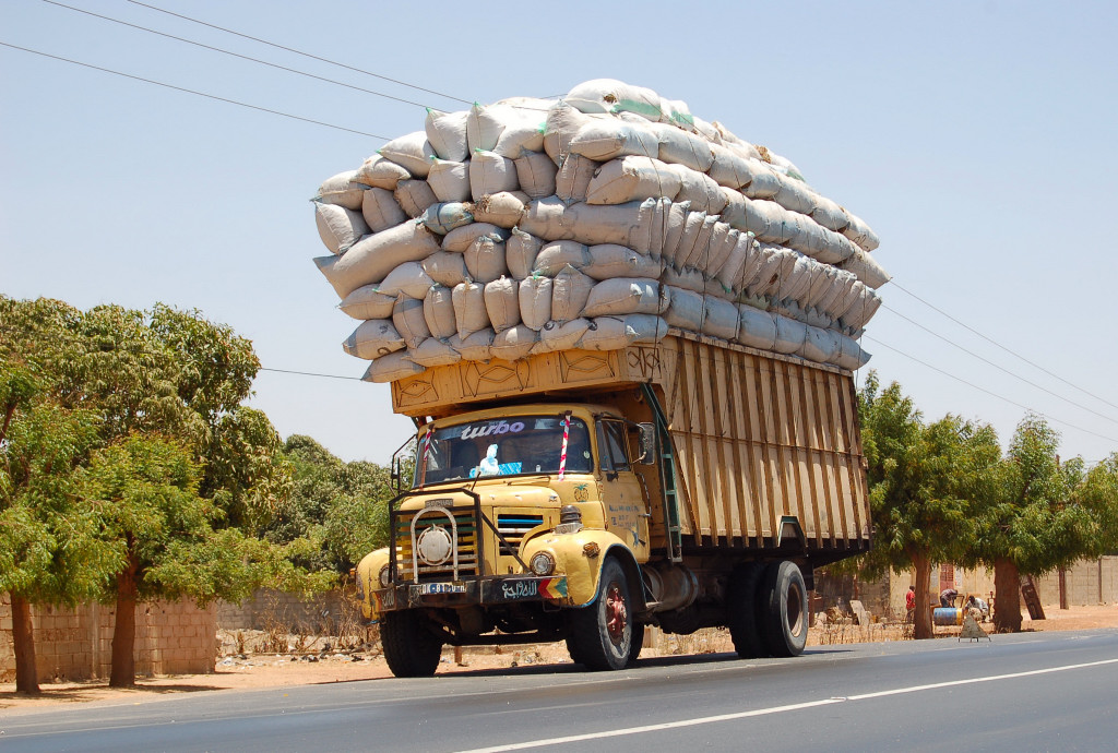 Image result for overloaded trucks on scales
