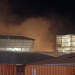 Sulfur fire at Perth industrial business