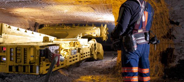 Cat CM235 Continuous Miner manufactured in Pennsylvania plant
