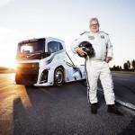 Volvo breaks record for world's fastest truck