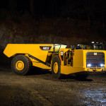 Caterpillar launches new underground truck