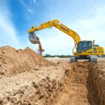 Komatsu unveils world's first intelligent machine control excavator