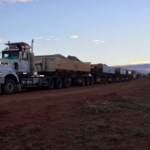 WPG trucks first ore from Tarcoola