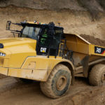 Caterpillar's latest articulated truck features next generation cab
