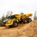 Komatsu launches pair of articulated dump trucks