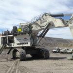 MacKellar Mining excavator entrance with Liebherr pays off